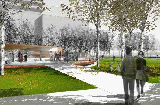 Landscape Architecture Perspective Drawings pfs studio - planning | urban design | landscape architecture