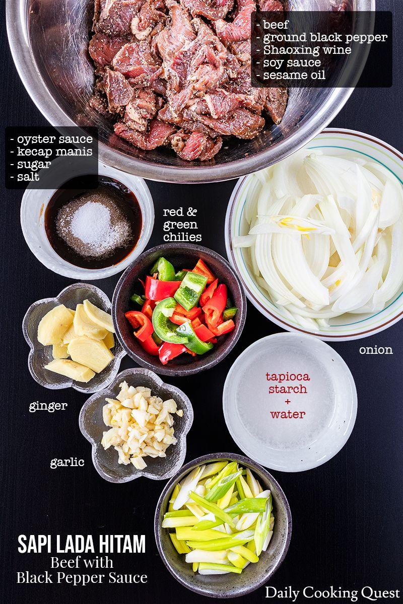 Sapi Lada Hitam Beef With Black Pepper Sauce Resep Di 2020 Makanan Dan Minuman Makanan Sehat Resep Masakan