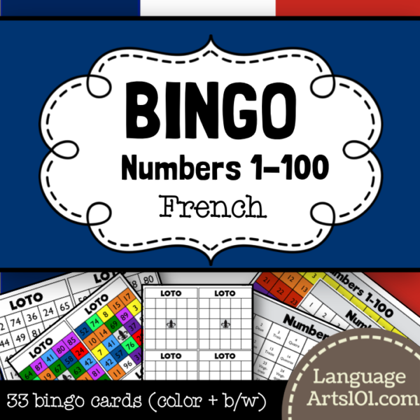 Numbers & colors Bingo - leapfrog.com