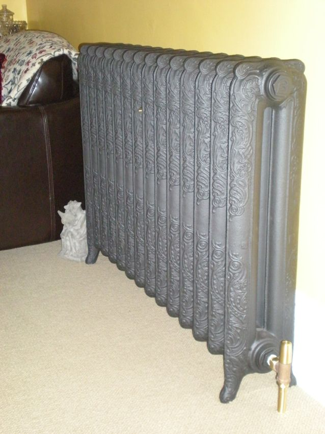 Liberty Cast Iron Radiator In A Clients Living Room