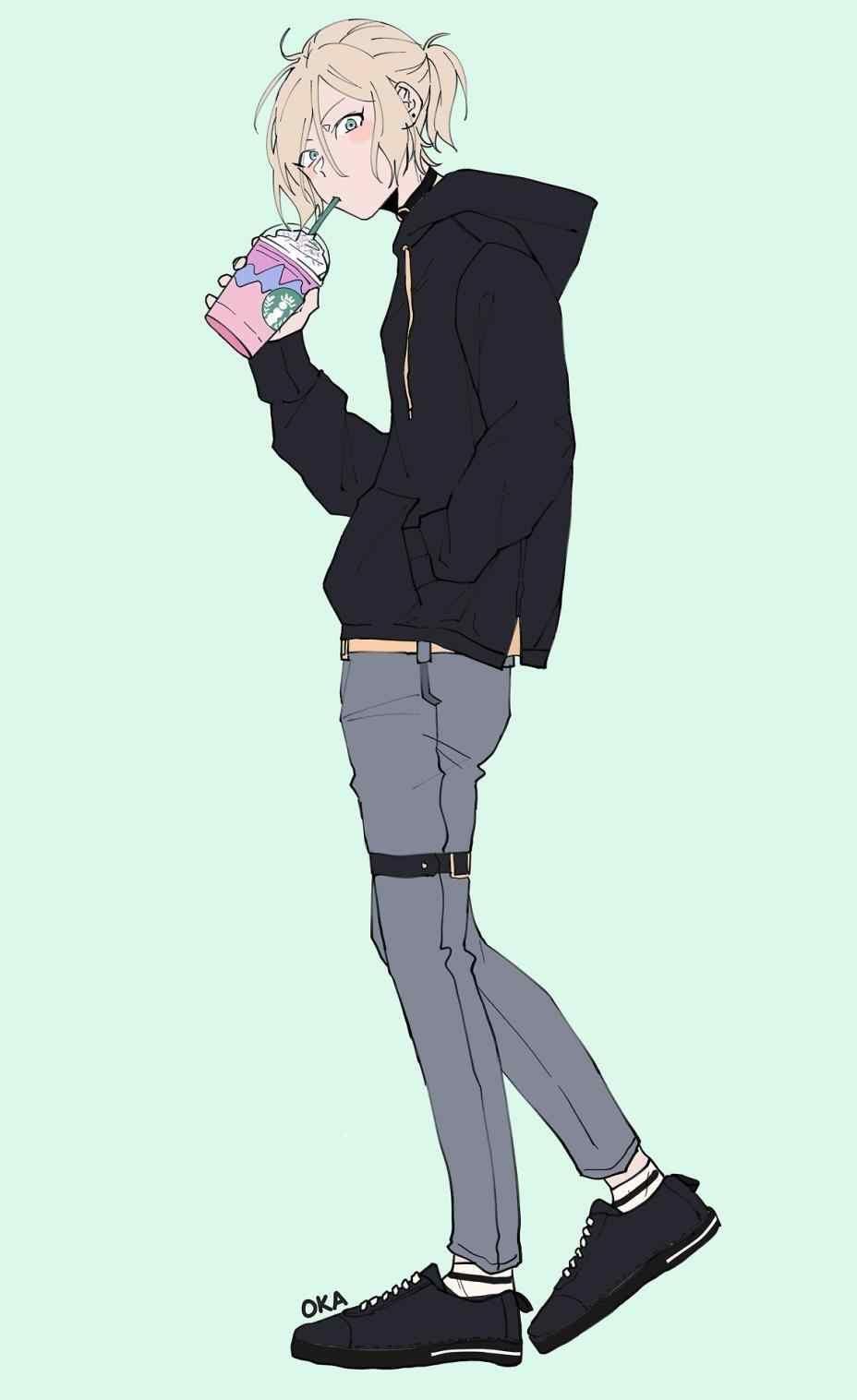 Image Result For Anime Boy Standing Animasi Sketsa Seni Anime