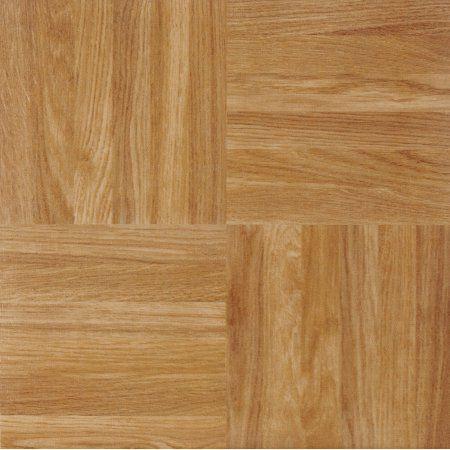 Achim Nexus Self Adhesive Vinyl Floor Tile 20 Tiles 20 Sq Ft 12 X 12 Oak Parquet Walmart Com Vinyl Flooring Vinyl Tile Flooring