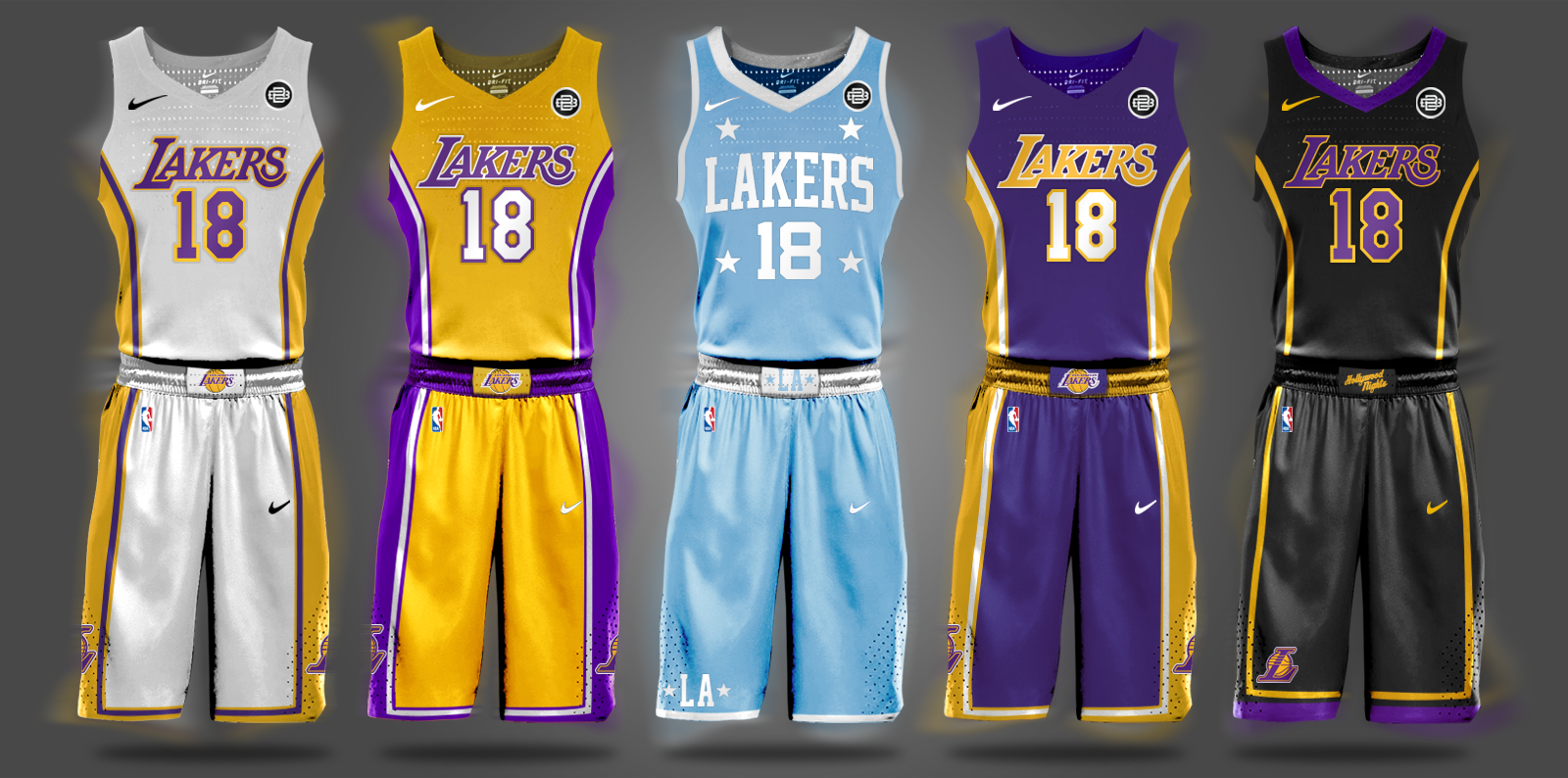 Los Angeles Lakers Kobe Bryant Lonzo Ball Big Baller Brand Lavar Ball Nike Nba Draft Sports Tshirt Designs Nba Uniforms Basketball Uniforms Design