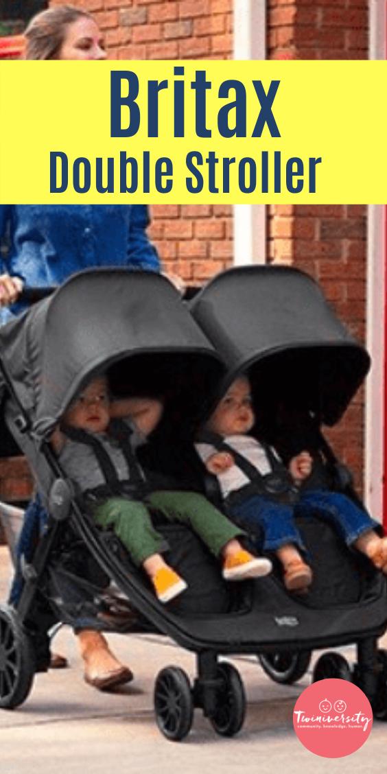 Britax Double Stroller in 2020 Britax double stroller