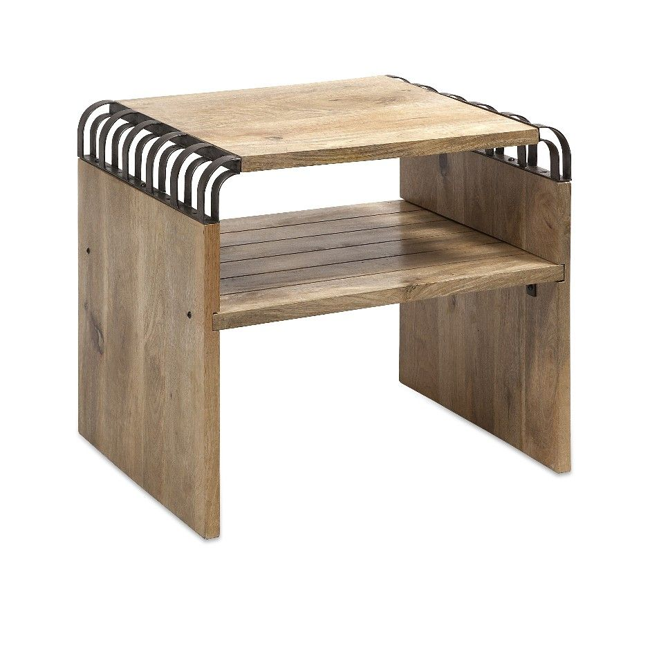 Modern and Classic Brown Conwell Mango Wood End Table Furniture Decor Imax 71749 | Furniture, home decor, wall decor, rugs, lamps, lighting outlet.