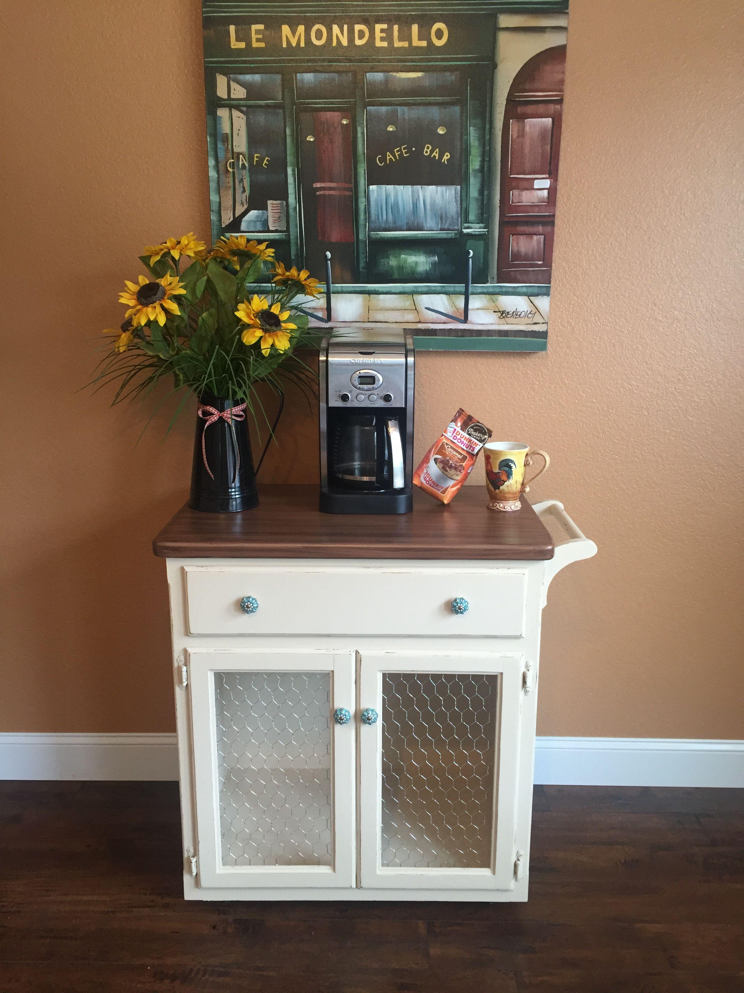 Farmhouse coffee cart Decor, Home decor, Liquor