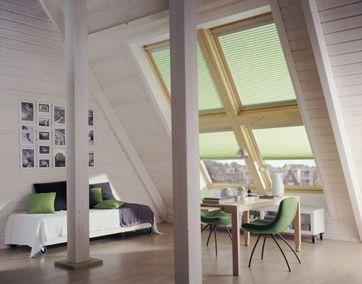 Meerdere dakramen als één groot raam sky light