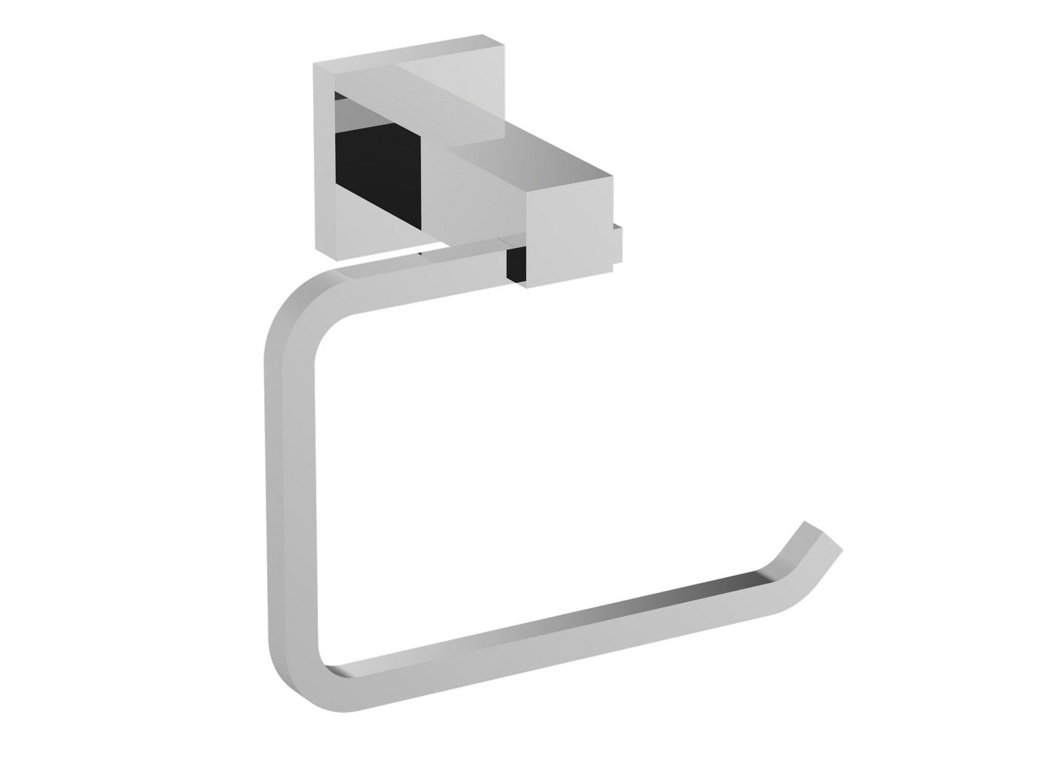 Eviva Square Holdy Toilet Paper Or Towel Holder Brushed Nickel Bathroom Accessories Bathroom Accessories Bathroom Accessories Chrome Brushed Nickel Bathroom Accessories