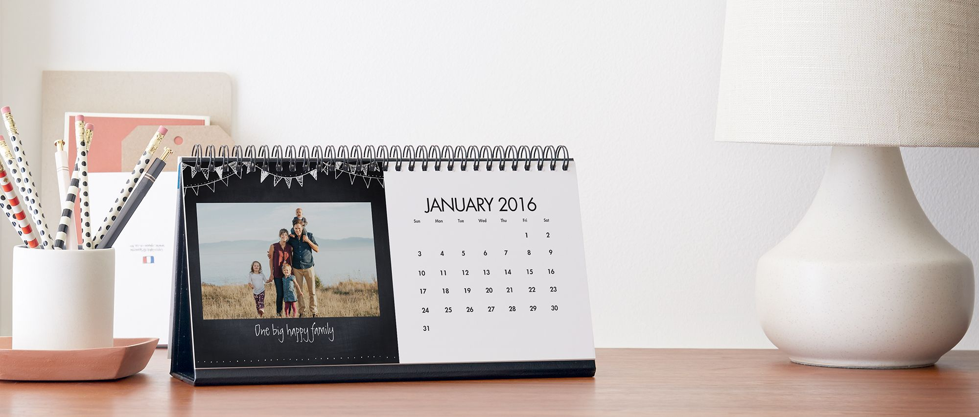 Create Custom Photo Desk Calendar Personalized Calendar Snapfish Us Photo Desk Calendar Desk Calendars Custom Desk