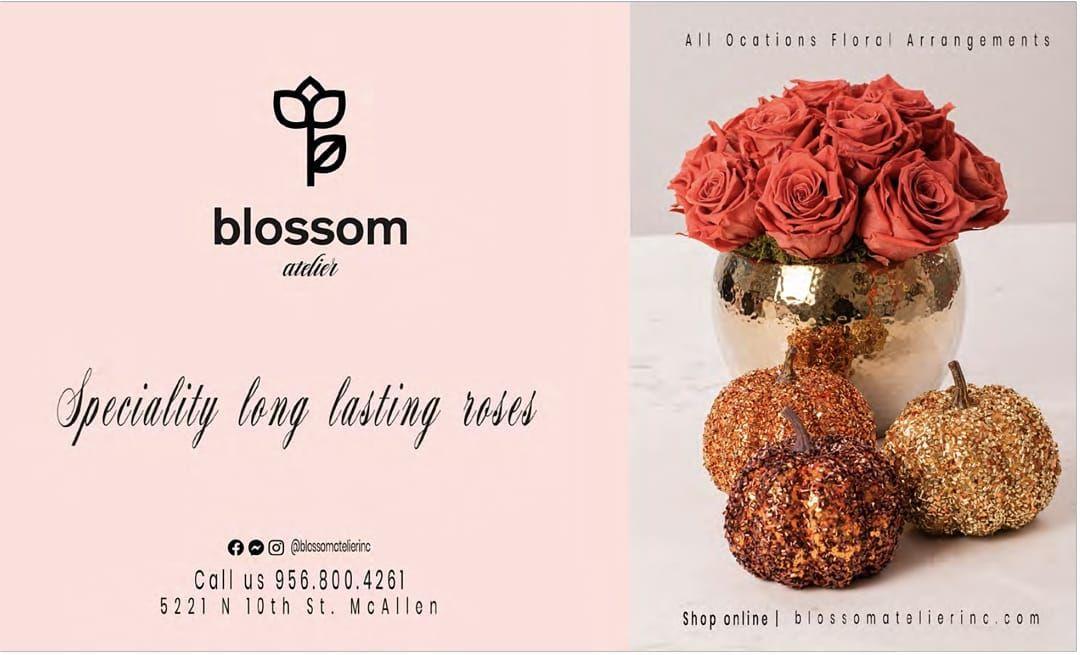 Blossomatelierinc Mcallentx Missiontx Rgv Flowers Flowershop Magazine956 Flower Shop Place Card Holders Blossom