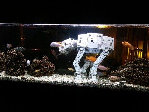 star wars fish tank accessories | ... Star Wars Aquariums -