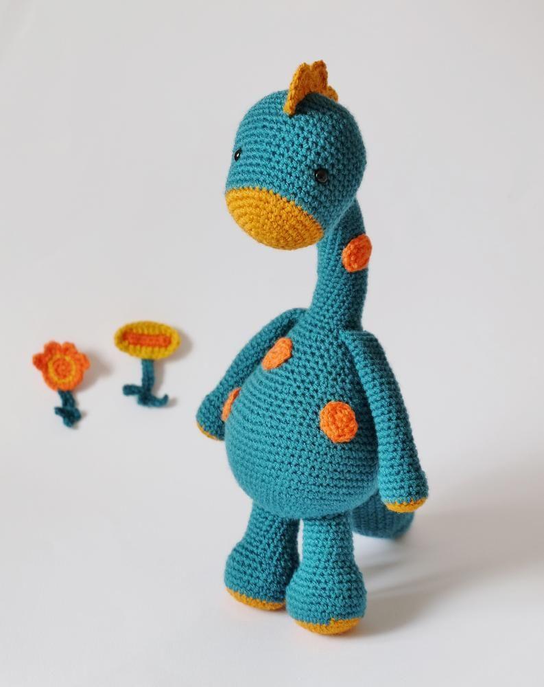 Crochet Dragon and Dino 2 in 1 | Amigurumis! | Pinterest