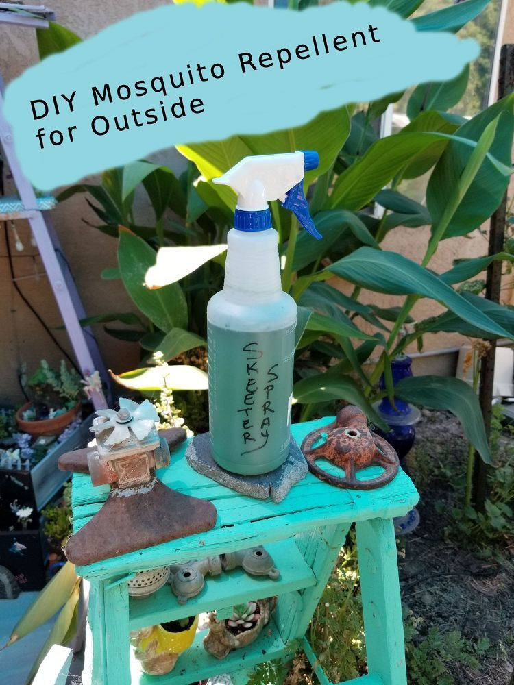 Keep Mosquitoes Away With This DIY Spray Homemade fabric