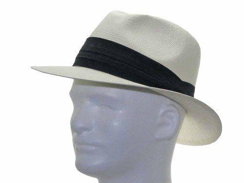 NEW MONTE CRISTO Fedora Panama Natural Straw Hat  889f78705e9