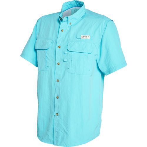d58200d14d Image for Magellan Outdoors™ Men s Laguna Madre Short Sleeve Fishing Shirt  from Academy Camisas Columbia