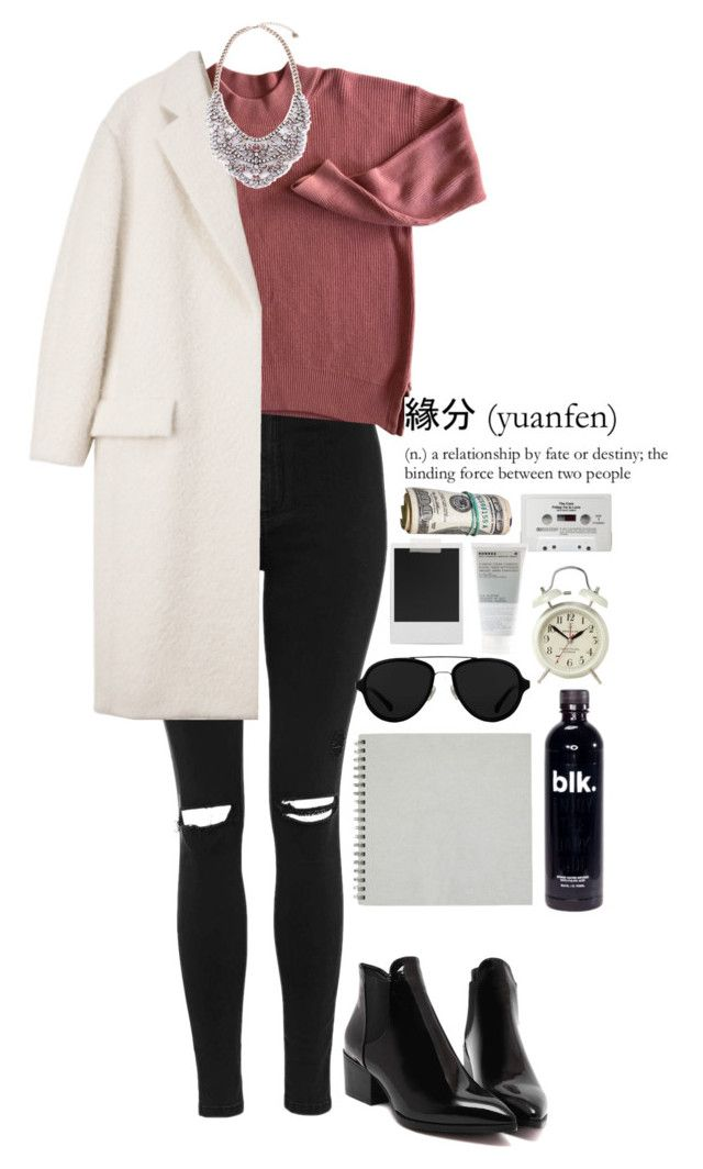 """Untitled #1255"" by mel5-973 ❤ liked on Polyvore featuring Topshop, 3.1 Phillip Lim, Newgate, CASSETTE, Korres, Polaroid and CÉLINE"