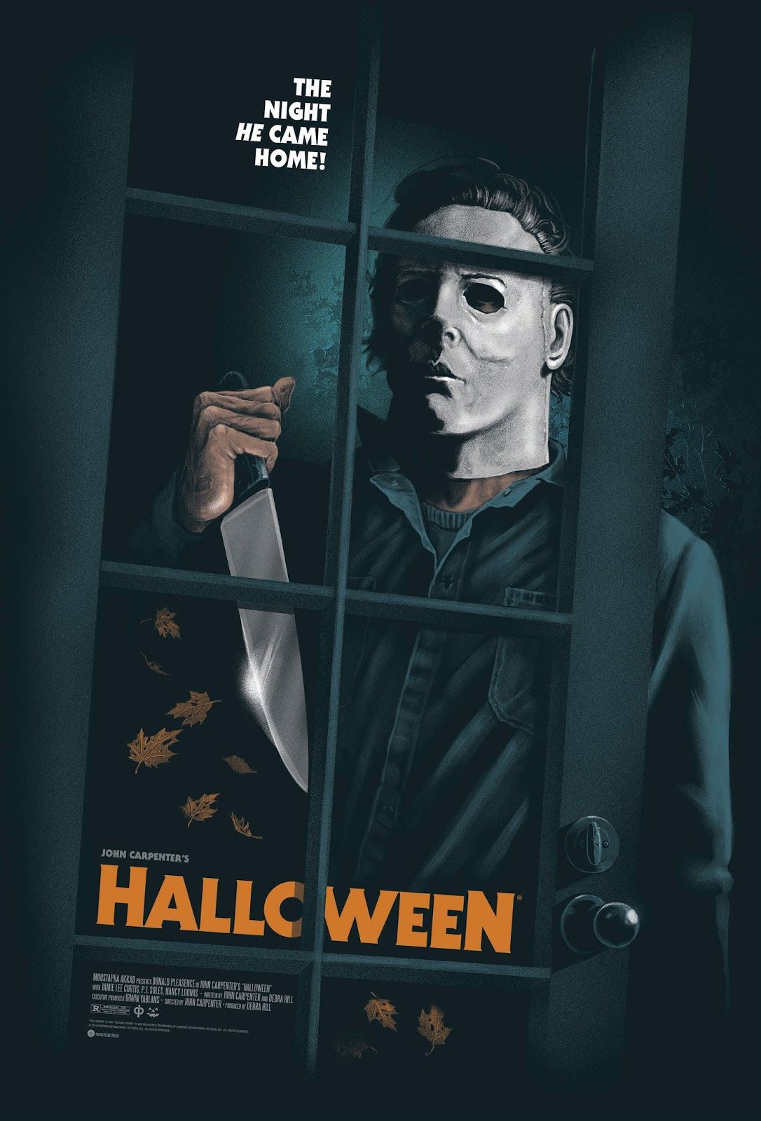 Halloween Movie Poster by Gary Pullin