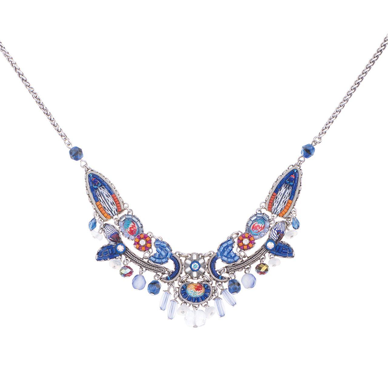 Ayala Bar Morning Glory Santorini Necklace In 2020 Santorini Necklace Bar Jewelry Necklace