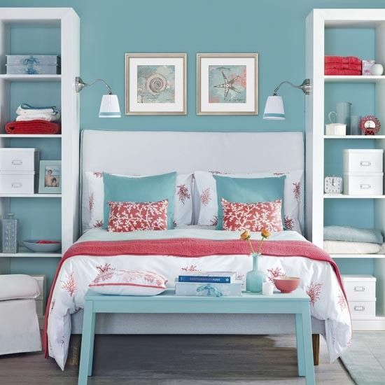 Best Ocean Blue Bedroom Traditional Bedroom Design Ideas 640 x 480