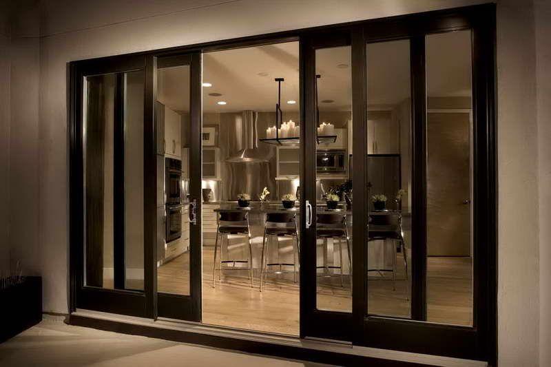 Change It Up With Sliding Glass Doors Black Interiors Doors Pow