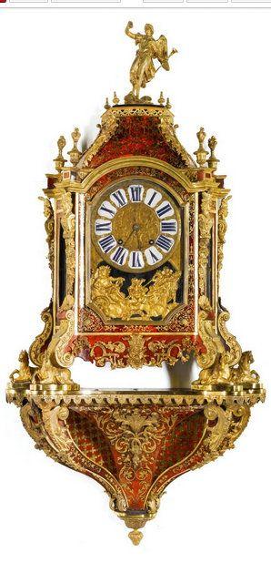 A LARGE LOUIS XIV GILT-MOUNTED TURTLESHELL BOULLE BRACKET CLOCK, FRANÇOIS LANCELOT, PARIS, CIRCA 1700