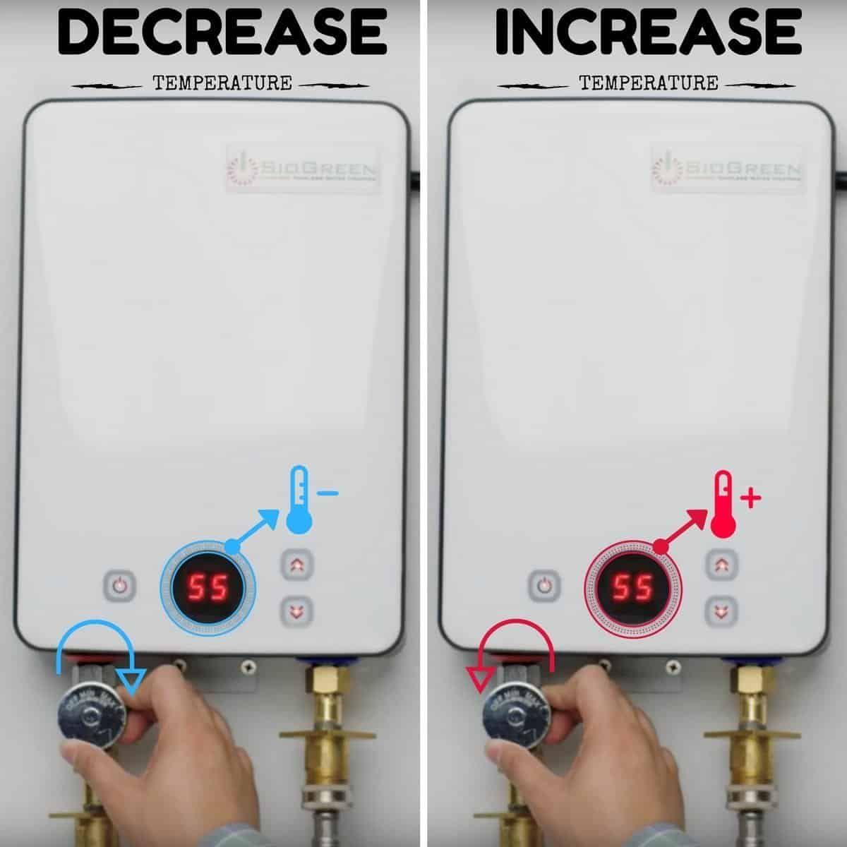 Best Electric Tankless Water Heaters In 2020 Complete Reviews Guide Tankless Water Heater Water Heater Heater