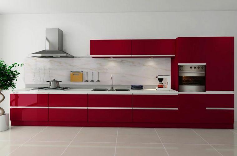 Cocinas modernas baratas para decorar los interiores   Interiores ...