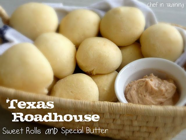 Texas Roadhouse sweet rolls and special butter