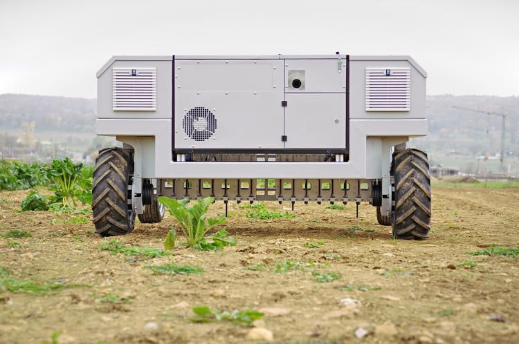 Automated Weeding Machines - This Very Efficient Farm Robot Removes Weeds Without Herbicides (GALLERY)