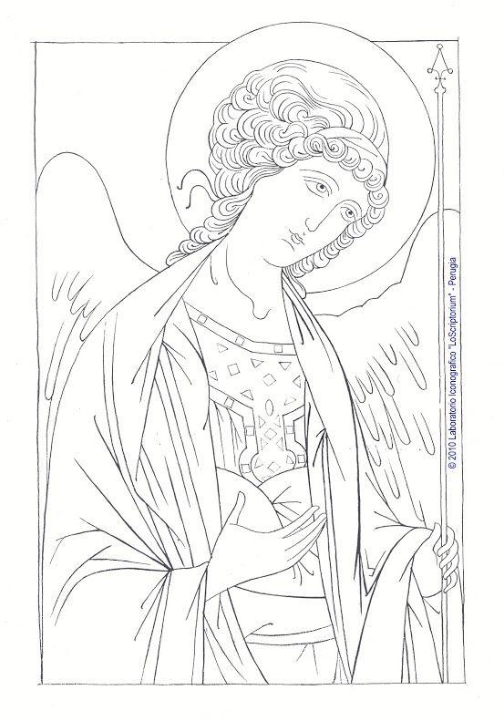 Studio icona Arcangelo Michele 01 | erzengel Raphael | Pinterest ...