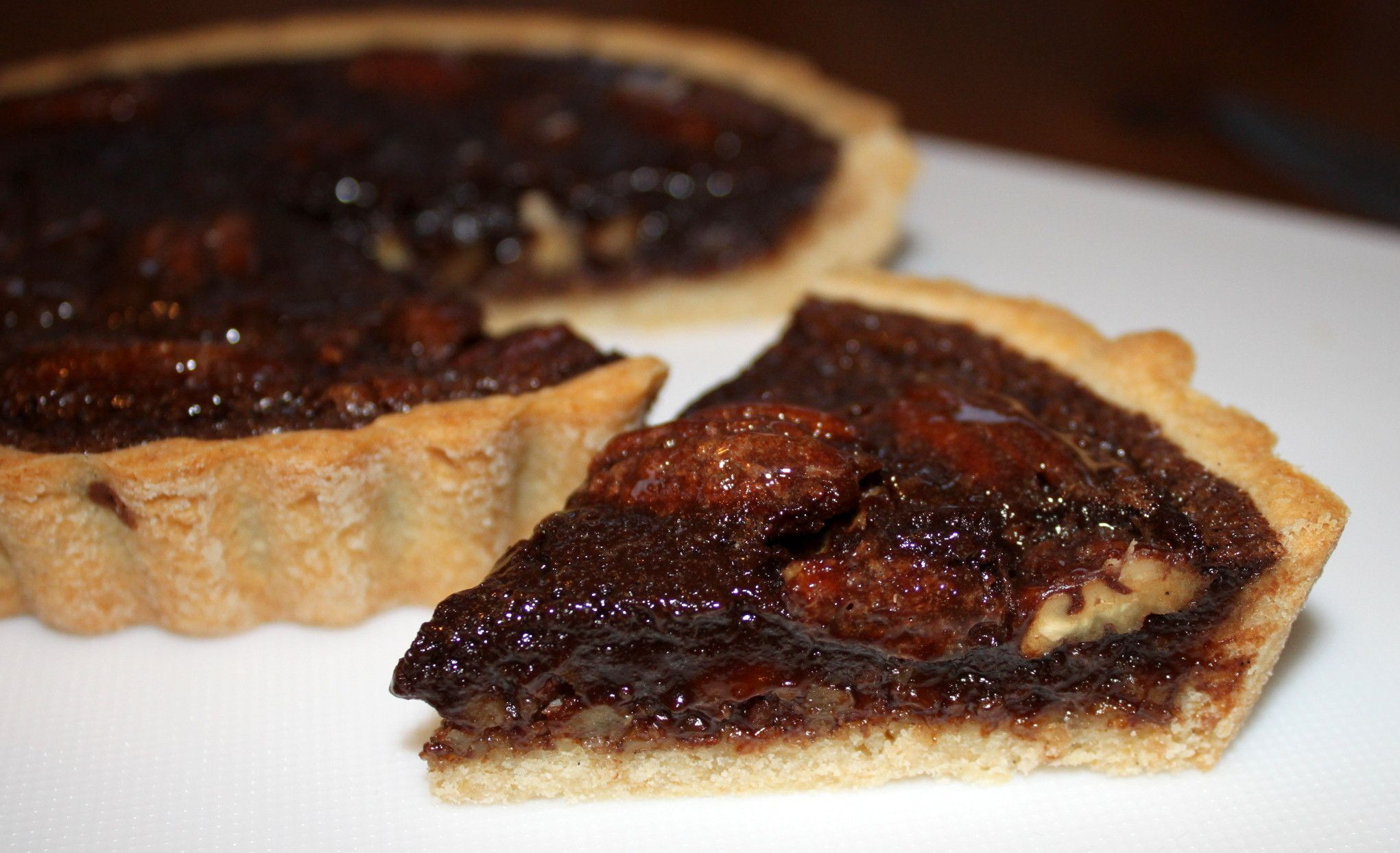 Chocolate Pecan Tart    Volume III - Chocolate Pies and Tarts