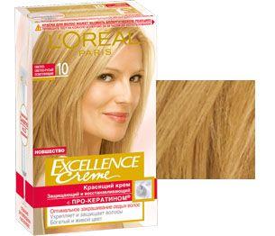 Краска для волос excellence creme палитра