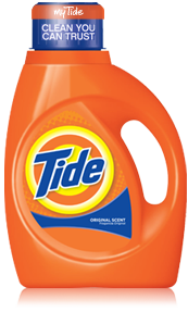 Tide - Mountain Spring and the new Odor Eliminator!