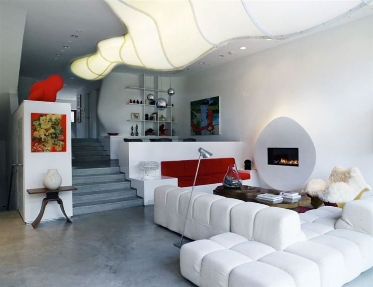 Bloom house by greg lynn also apartment interior design rh pinterest