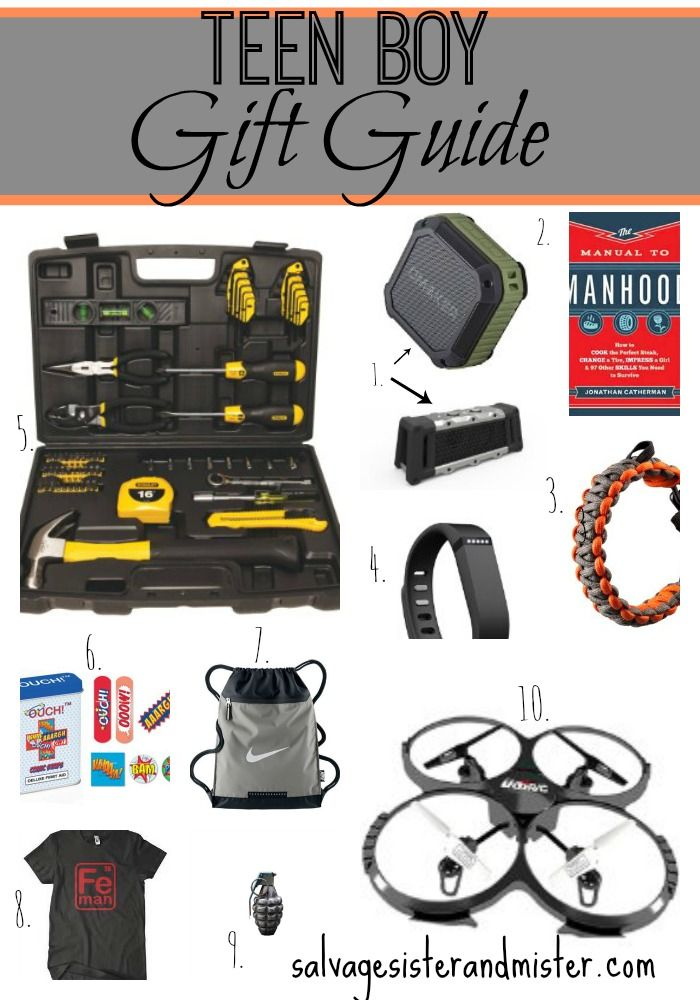 Teen Boy Gift Guide Best of Salvage Sister and Mister