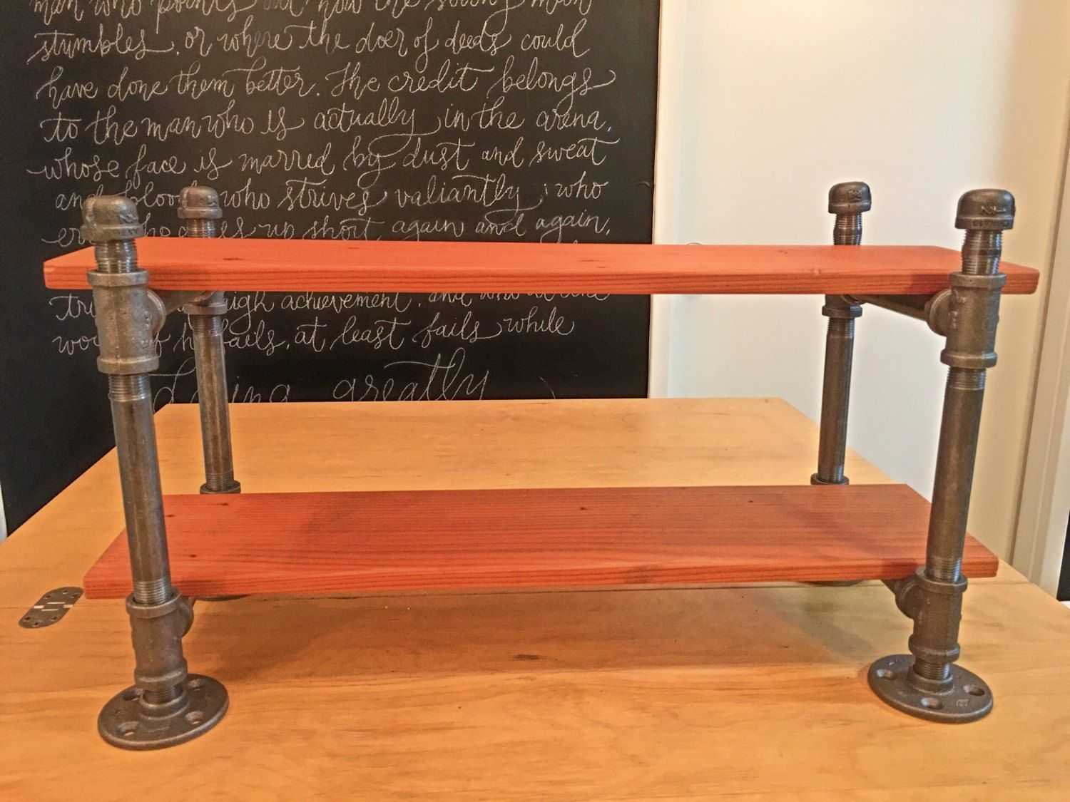 steel pipe furniture. Steel Pipe Furniture. Iron Desk Shelf, Industrial Decor, Furniture\\u2026 Furniture N