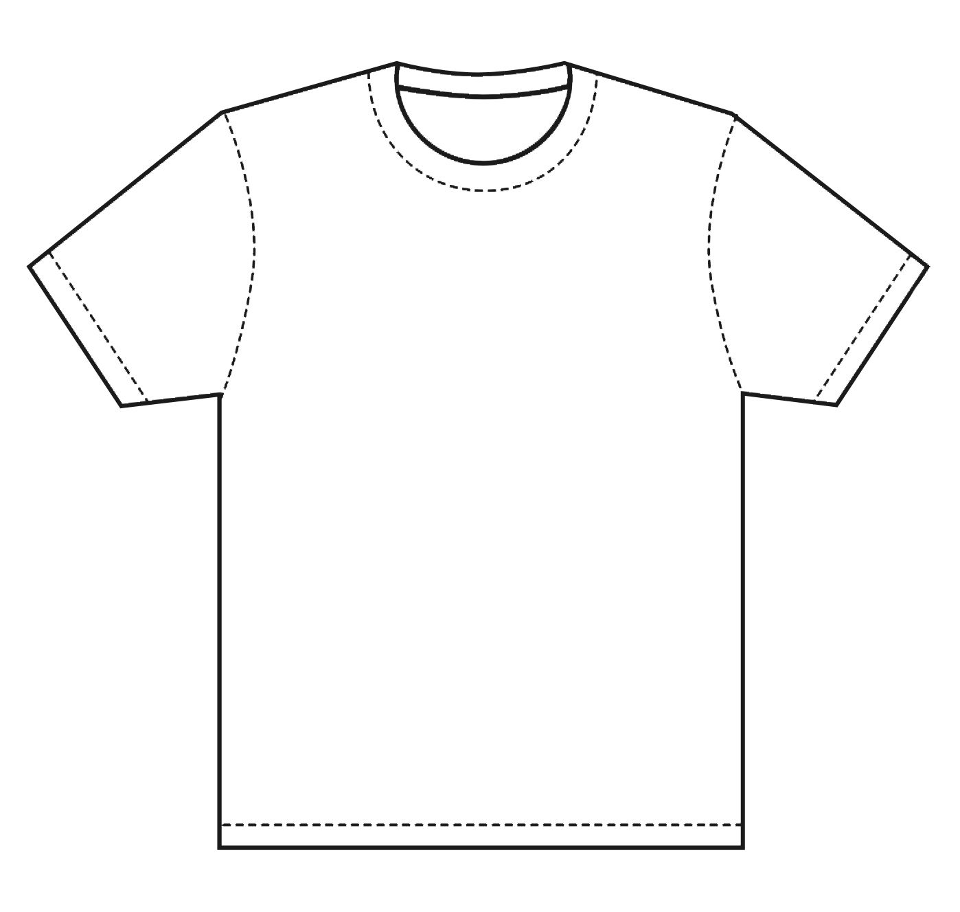 Line Art T Shirt Design : T shirt template design this is great