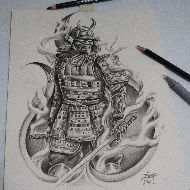 Samurai #dibujo #draw #drawing #ilustración #illustrations #artistic ...