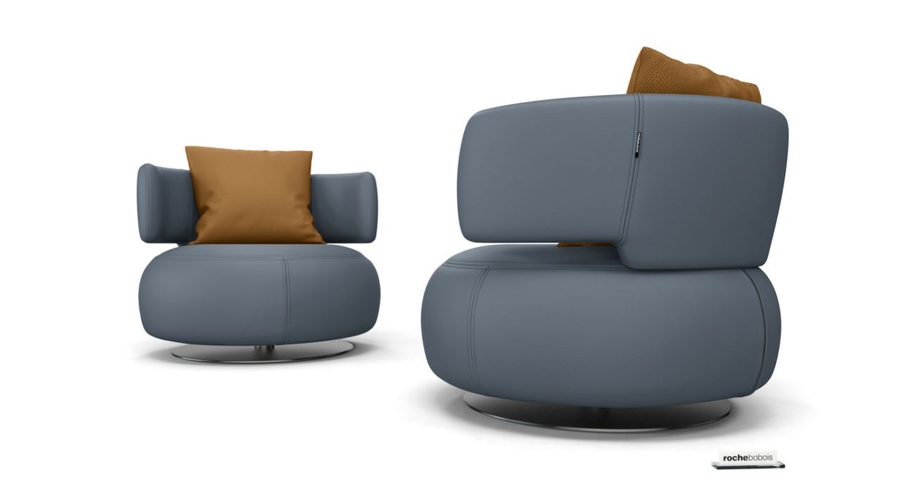 ma nouvelle personnalisation fauteuil curl by roche bobois rochebobois personnalisations. Black Bedroom Furniture Sets. Home Design Ideas