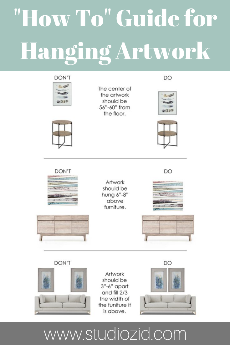 How To Guide for Hanging Artwork