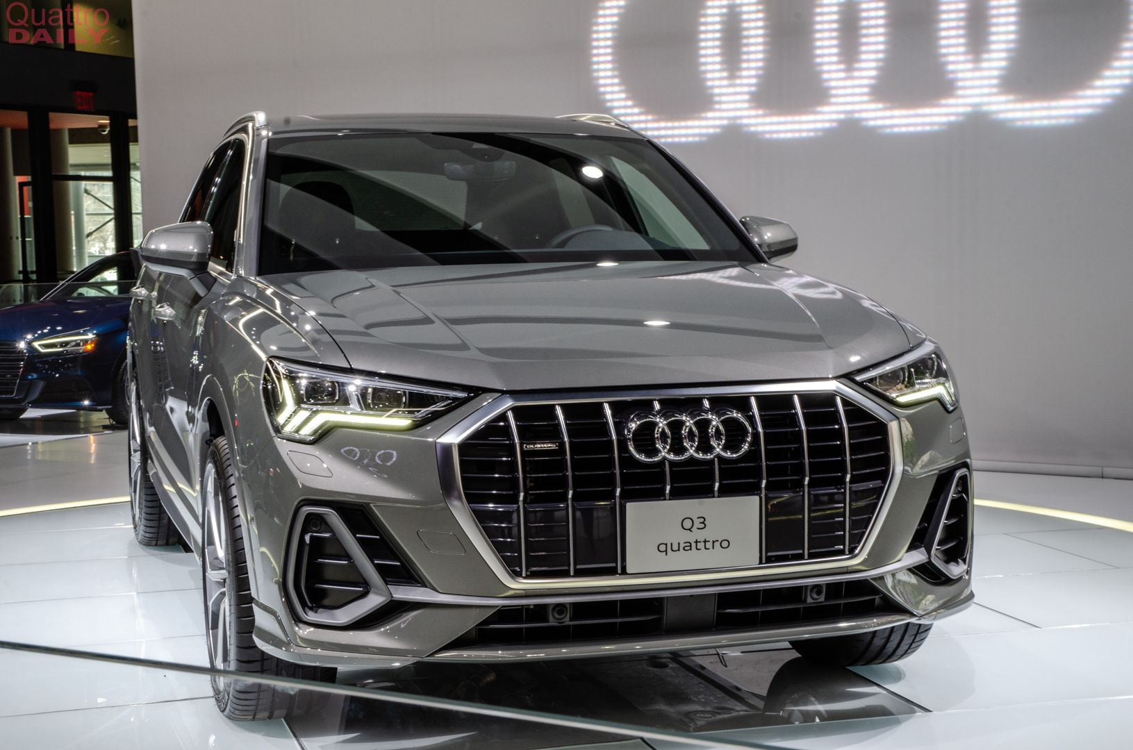 2019 Ny Auto Show 2019 Audi Q3 Is Here To Take On The Bmw X1 Audi Q3 Audi Bmw