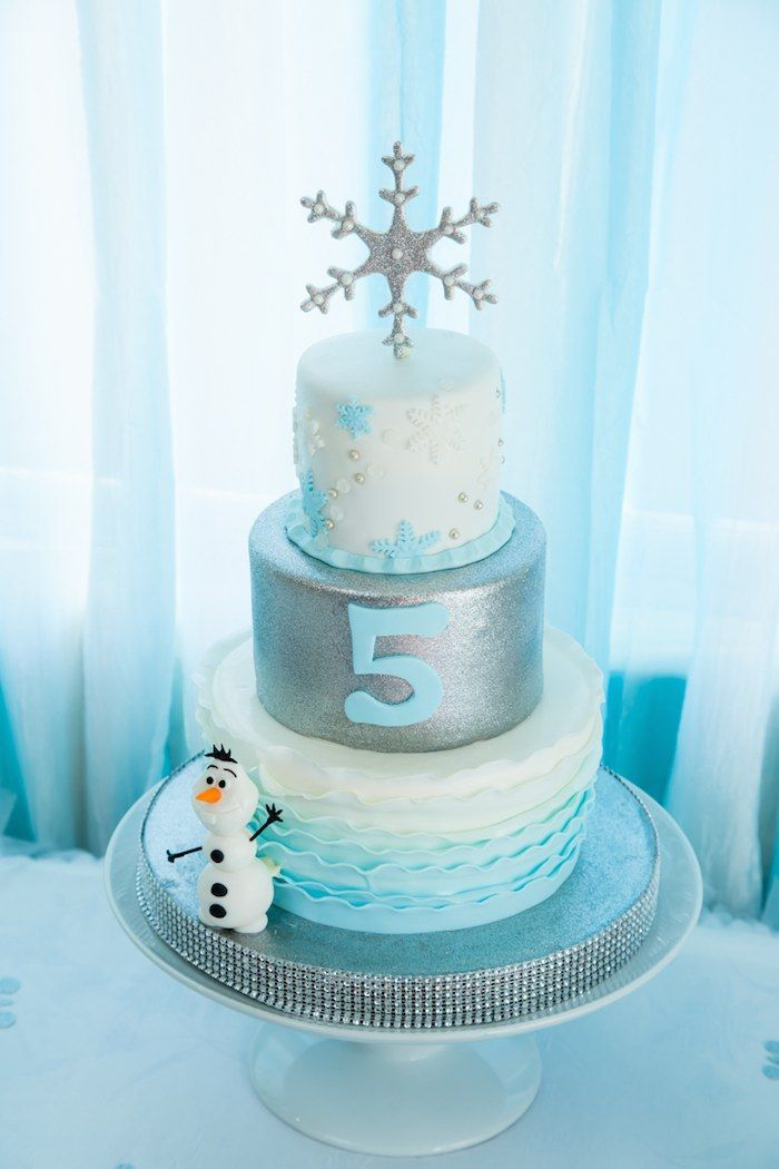 Frozen Themed Fifth Birthday Party Frozen themed birthday party