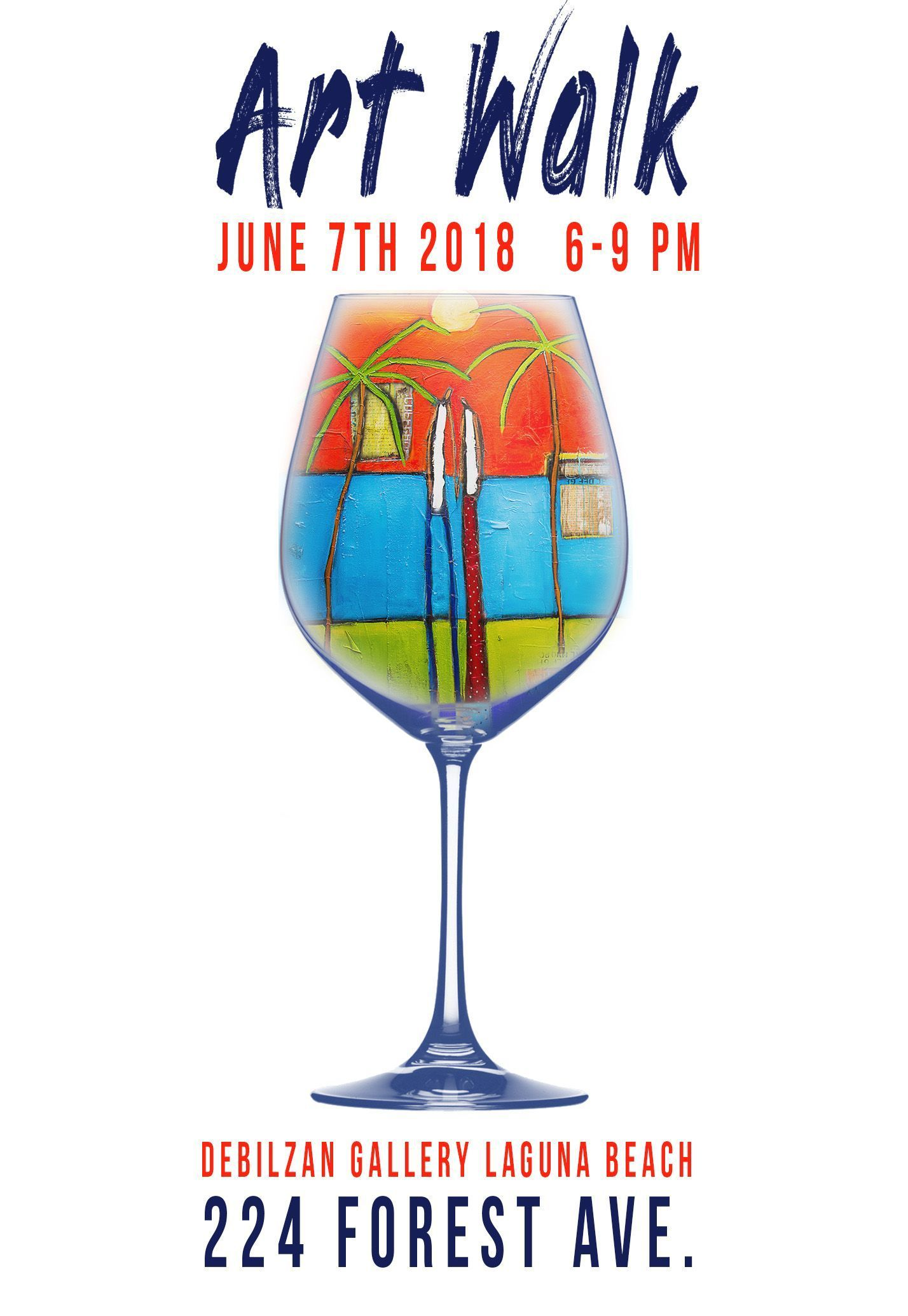 Join Us At The Debilzan Fine Art Gallery In Laguna Beach On Thursday June 7th From 6 9 Pm For A Complimentary Wine Tasting One Lucky Guest Will Win