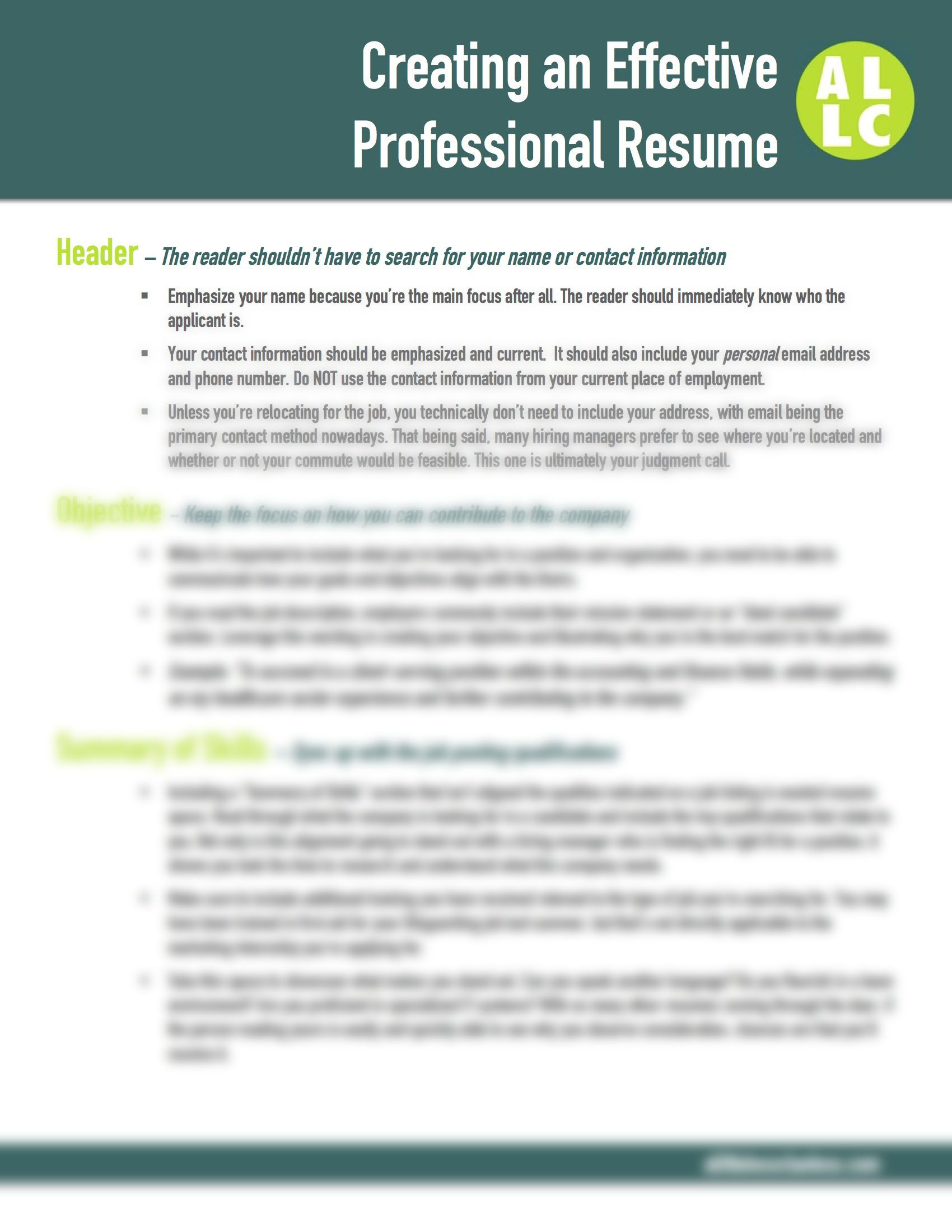 Fantastic Resume Instructions Contemporary Documentation