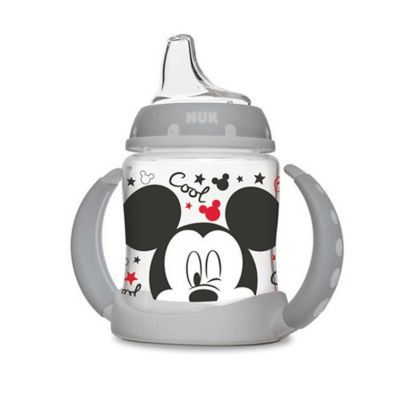 Nuk 5 Oz. Mickey Mouse Learner Cup In Grey #disneycups