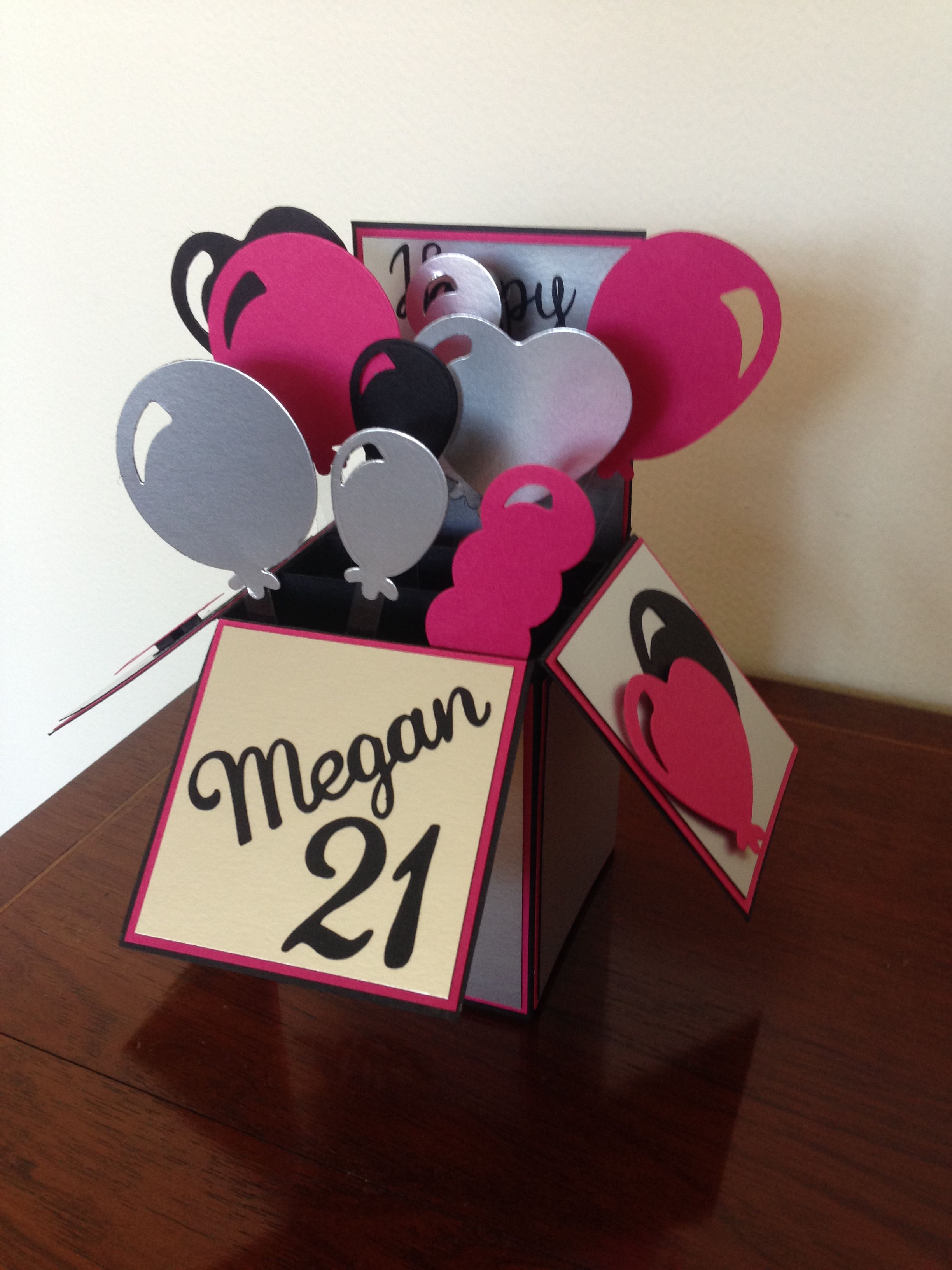Pin By Robyn Woolliams On Card Ideas 21st Birthday Cards Fancy Fold Cards Birthday Cards