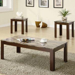 Walmart Wildon Home Bingham 3 Piece Coffee Table Set Coaster Fine Furniture Coffee Table 3 Piece Coffee Table Set