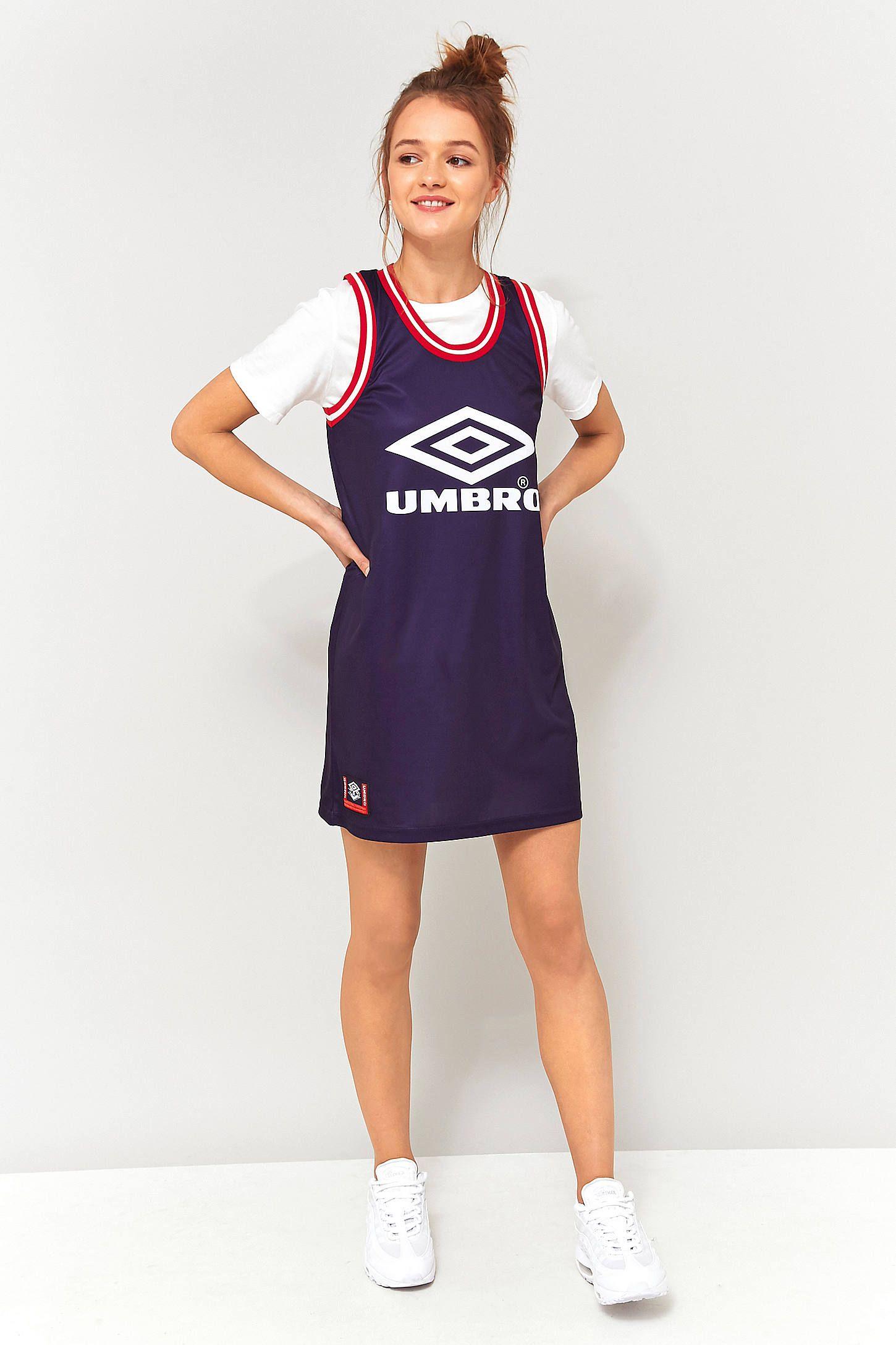 c86ff0a05b Umbro Logo Jersey Tank Dress | umbro | Tank dress, Jumpsuit dress ...