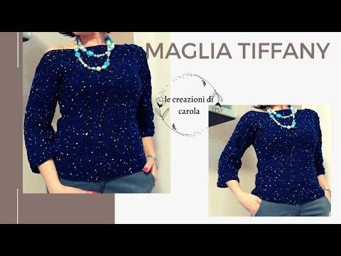 "Photo of Maglia ""tiffany"""