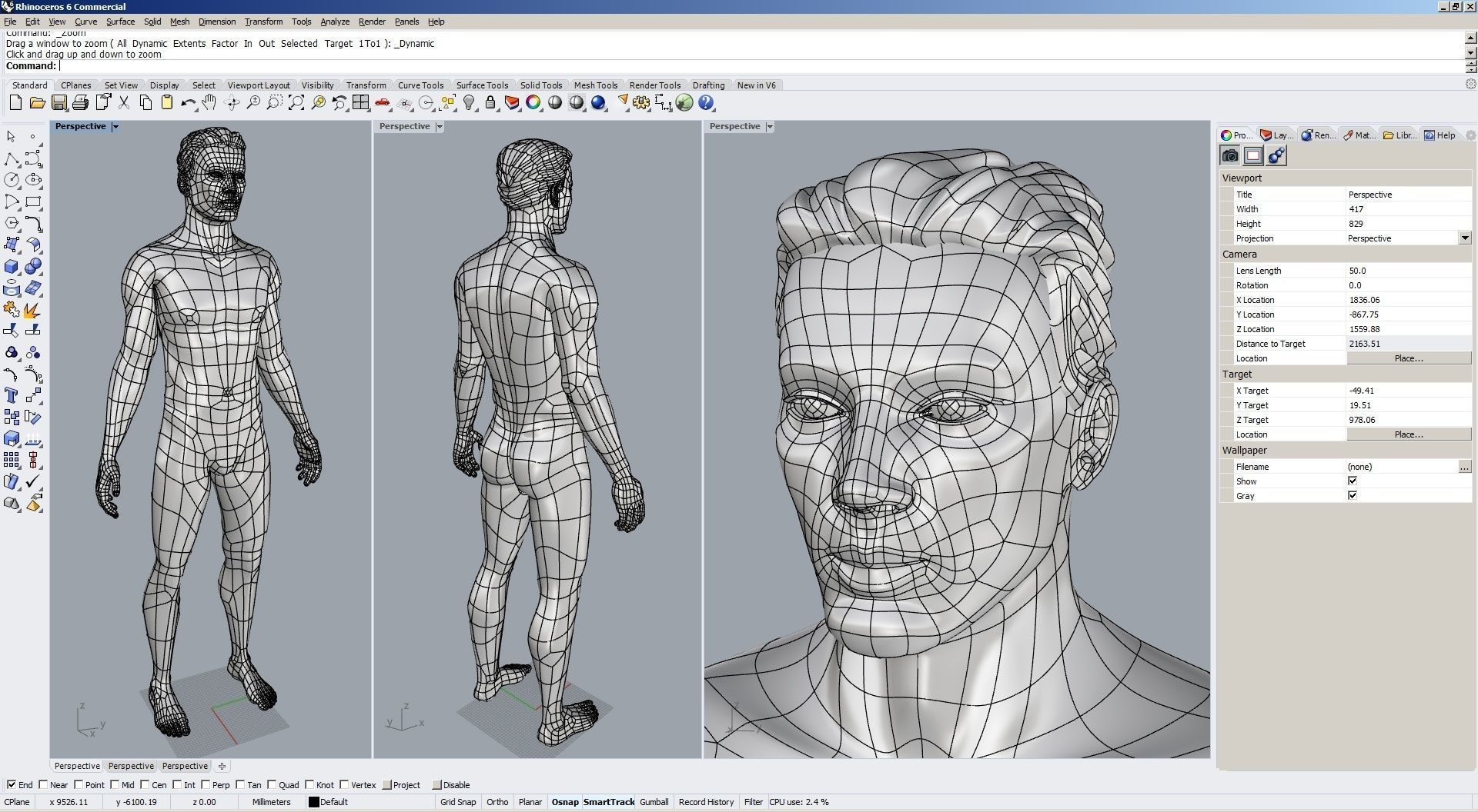 Solidbody CAD #Model M2P1D0V1 Tyler in Rhino  Compatible